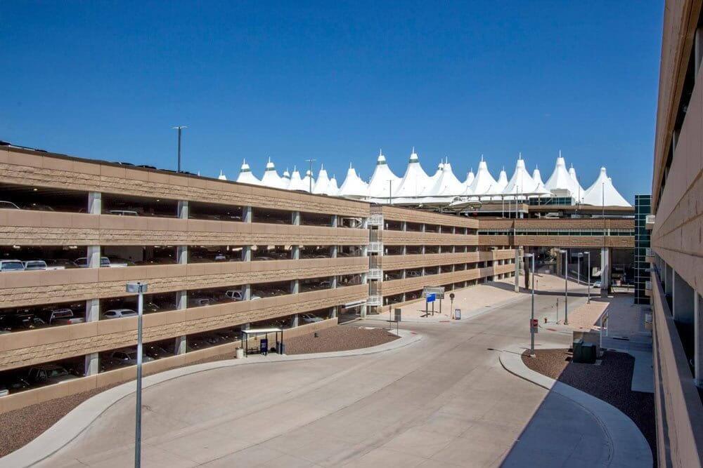 DIA Parking Garage, Stairwell Replacement