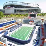 Commercial Painting and Floor Treatment Project - Mini Mile High Stadium, Denver, CO - Maximum Painting LLC